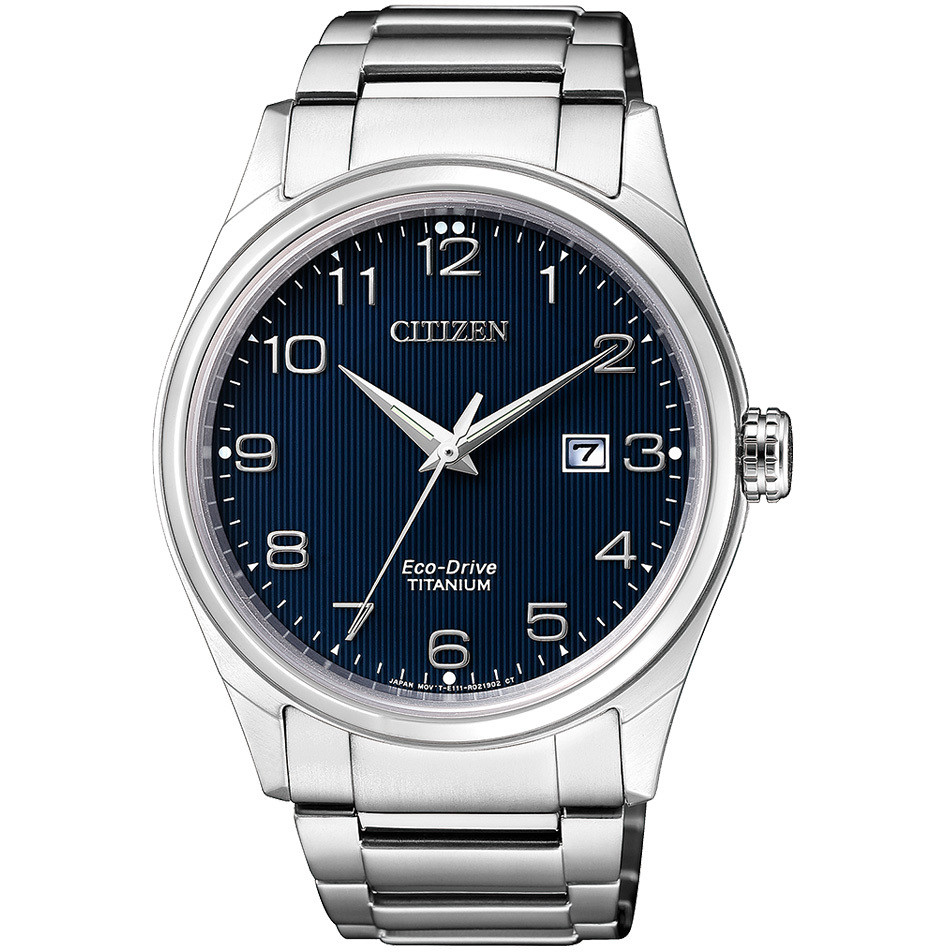 Citizen orologio solo tempo uomo Citizen Super Titanio